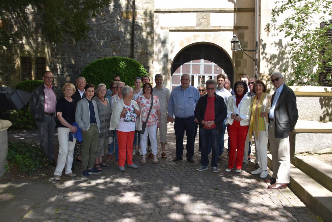 Besuch auf Schloss Landsberg