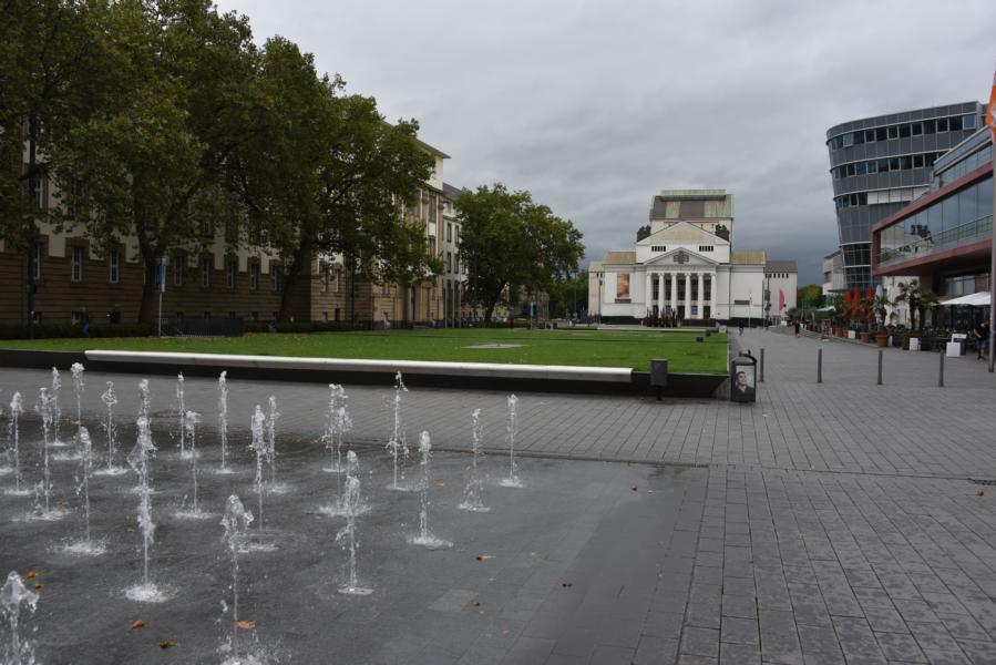 ebenerdiges Wasserspiel (Duisburg, Innenstadt)
