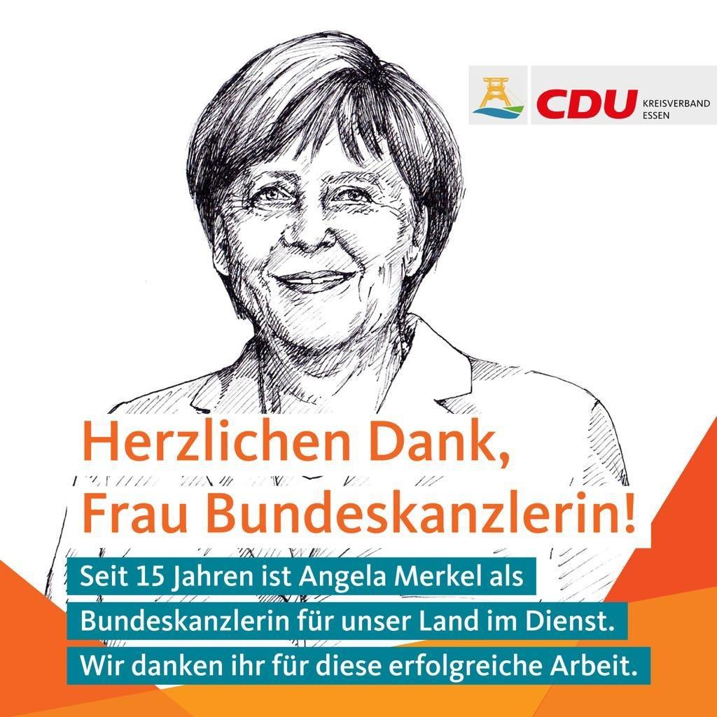 Angela Merkel Jubilaeum