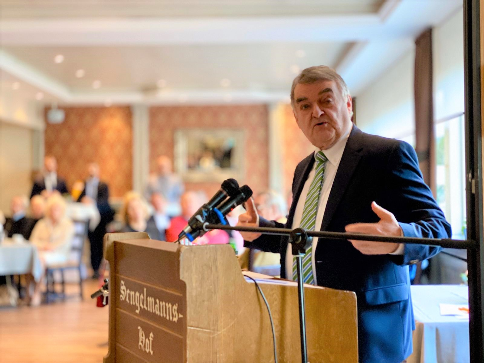 Innenminister Reul in Kettwig